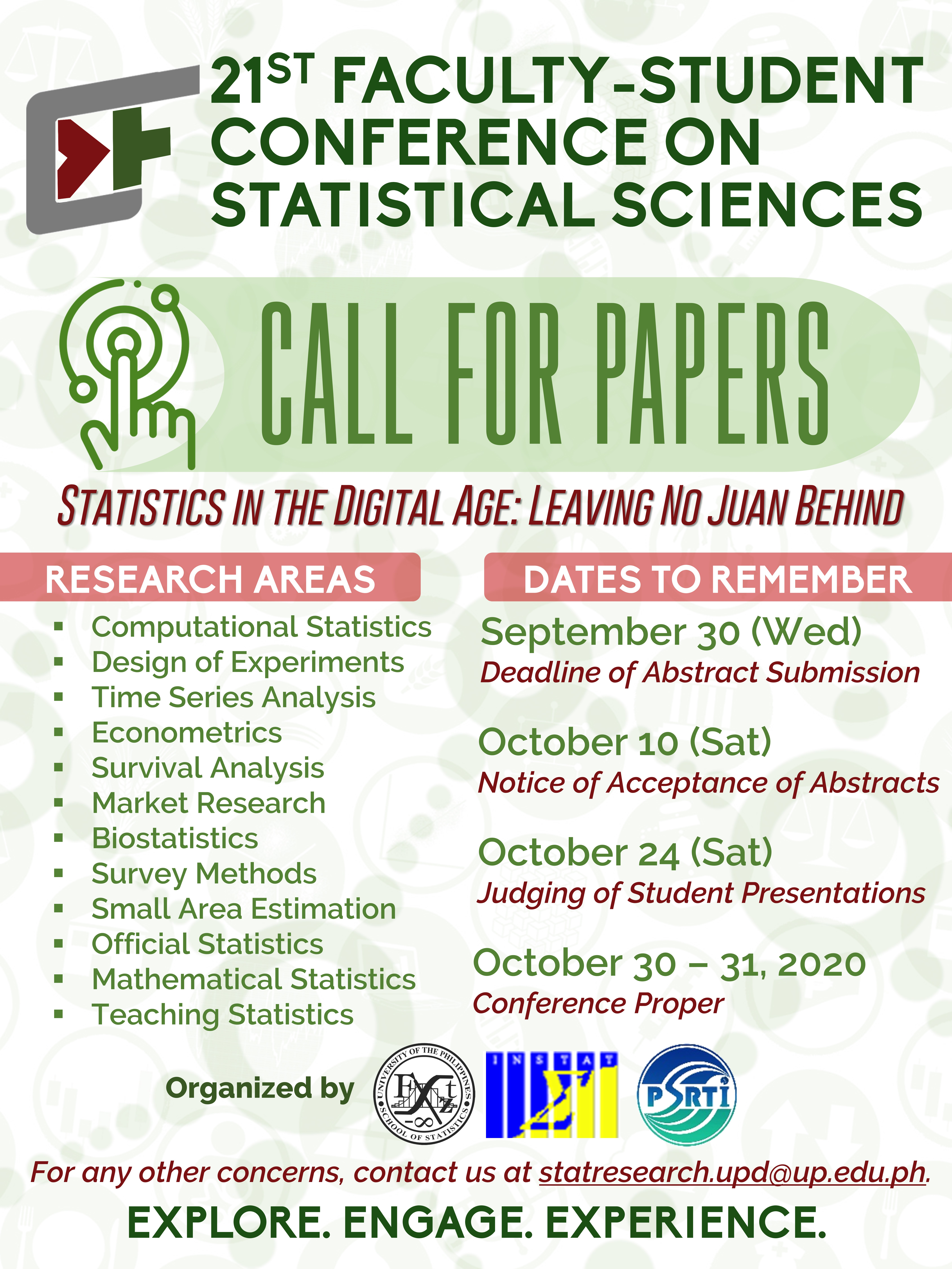 Image for 21st Faculty-Student Conference on Statistical Sciences